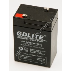 A407 Батарея аккумуляторная GDLITE GD-440 (4V 4Ah)