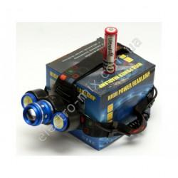 A580 Фонарик на лоб на аккумуляторе 150