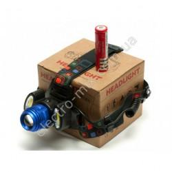 A581 Фонарик на лоб на аккумуляторе 117