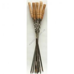 A601 Шампур с деревянной ручкой