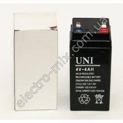 A680 Аккумулятор UNI 4В 4А