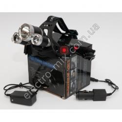 A802 Фонарик LED налобный T6