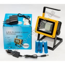 A828 Фонарик LED на аккумуляторе 3 шт. (3 режима) + зарядка USB